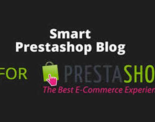 creare blog con prestashop