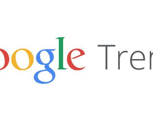 Google Trends novità