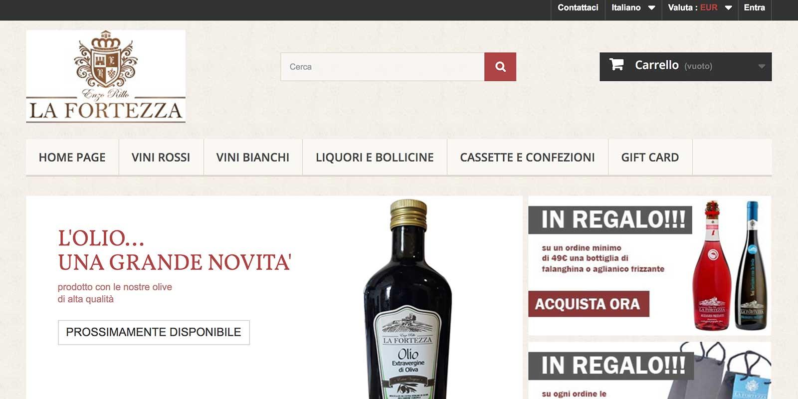 Cantina del Taburno i vini