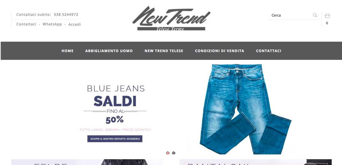 Abbigliamento uomo online