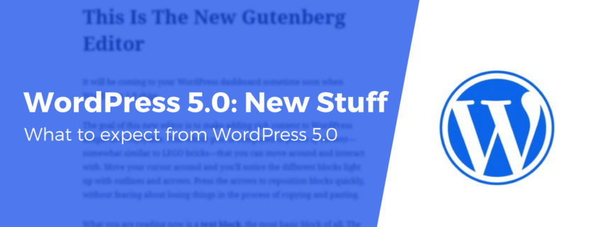 Novità wordpress 5